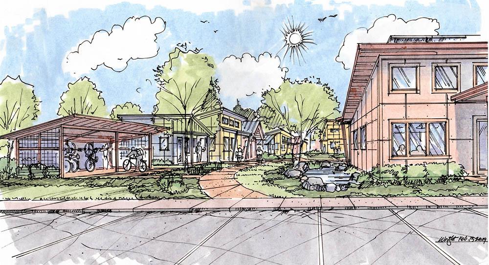 affordable housing model