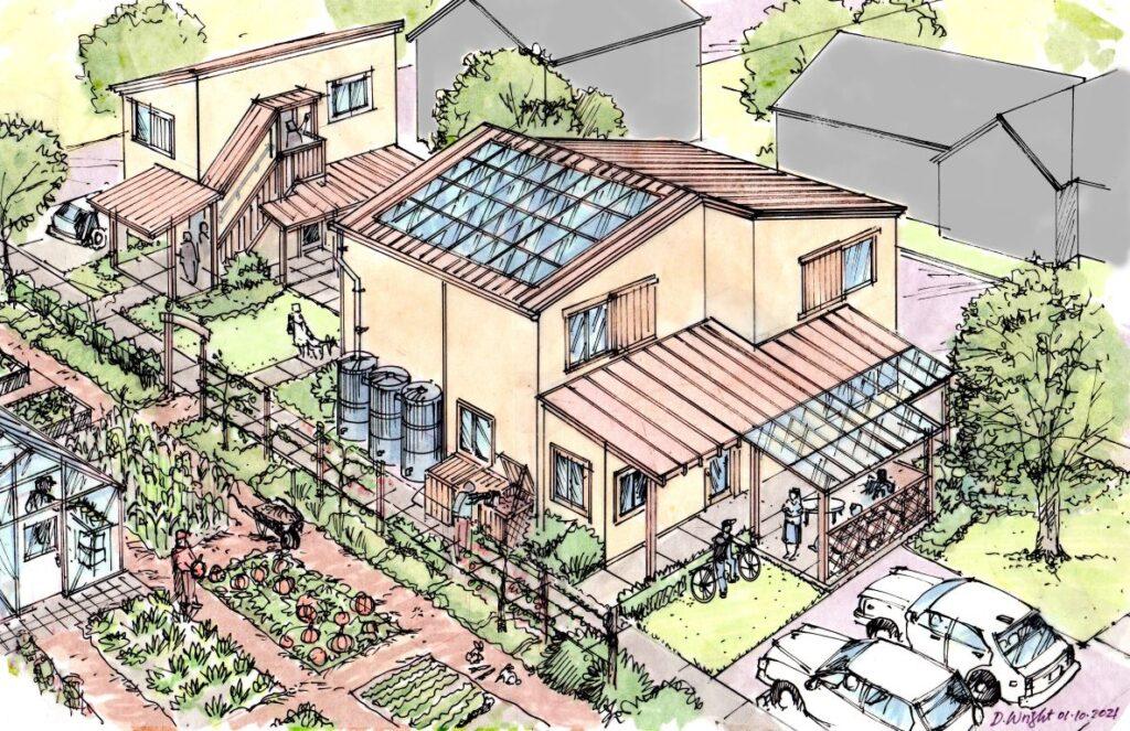 affordable housing village